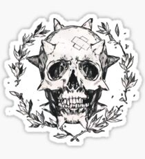 Chloe skull Sticker