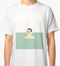 EN SMUK DAG PÅ HAVET (... a beautiful day at sea!) Classic T-Shirt