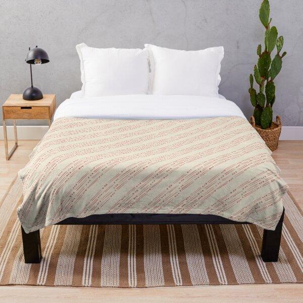 Fields Repeat Pattern Throw Blanket