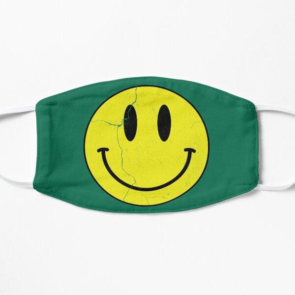 Vintage Rave Smiley Face Flat Mask