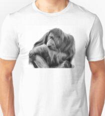 Orangutan in Black & White T-Shirt