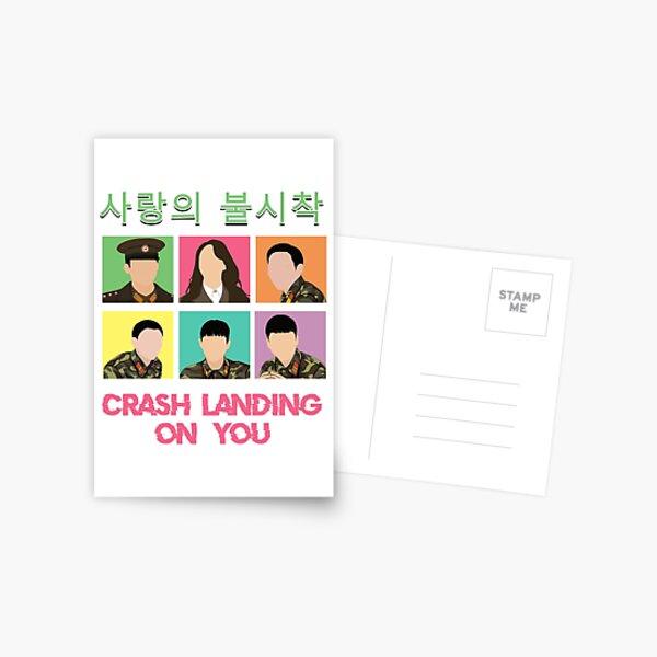 Crash Landing On You Postcard