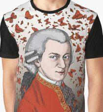 Wolfgang Amadeus Mozart Graphic T-Shirt