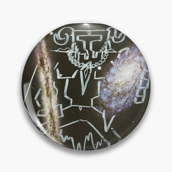 """""""Space Warrior"""" Pin"""
