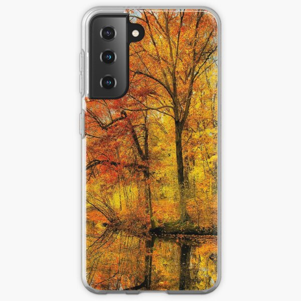 Fall colors of New England Samsung Galaxy Soft Case