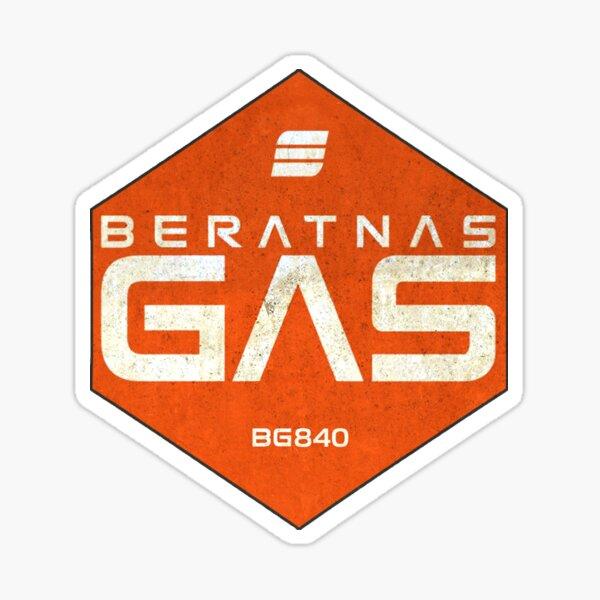 La conception du gaz Expanse Beratnas Sticker