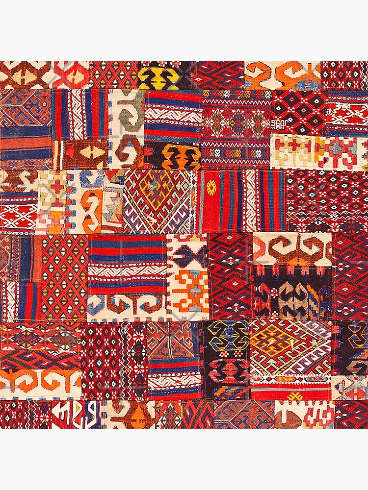 Traditional Retro Vintage Bohemian Collage Moroccan Style  by Arteresting