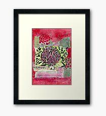 Waratah Framed Print