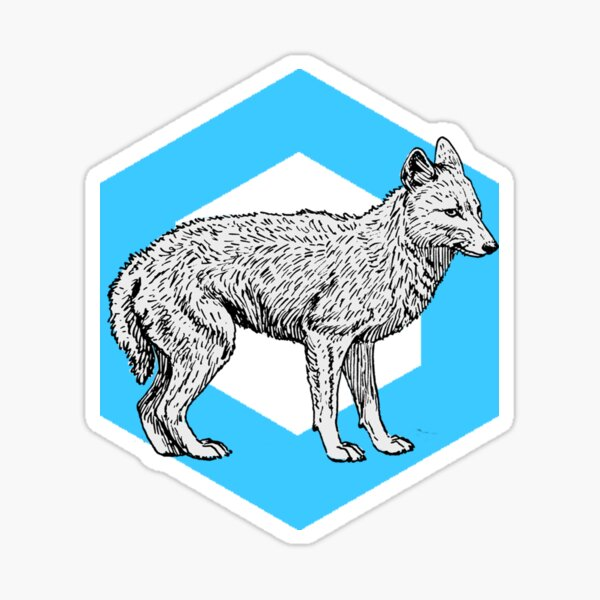 Fox Shine Sticker