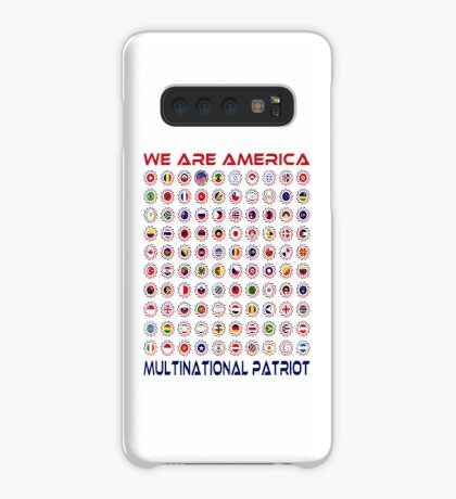 We Are America Multinational Patriot Flag Collective 2.0 Case/Skin for Samsung Galaxy