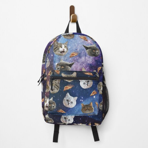 Space Cat Heads Backpack