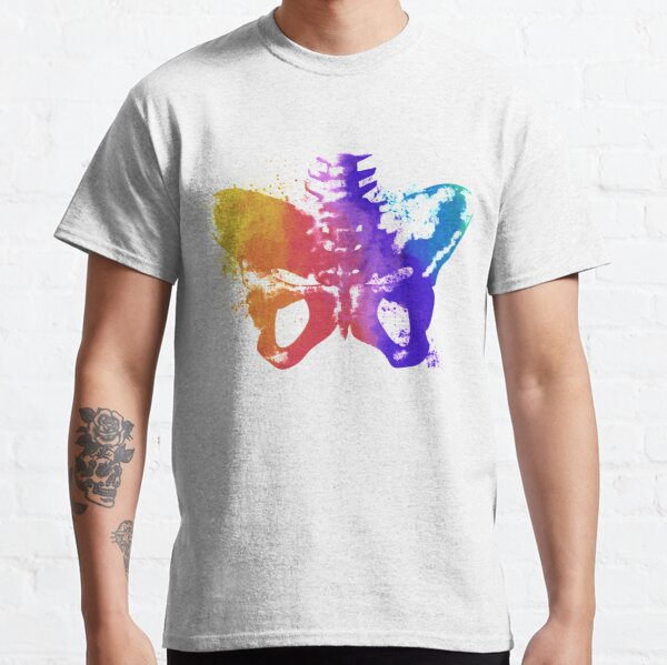 Pelvic Splash in Colour Classic T-Shirt