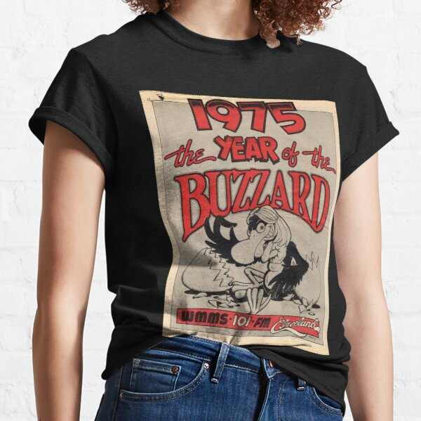 Wmms 101 Fm Cleveland 1975 The Year Of The Buzzard Classic T-Shirt