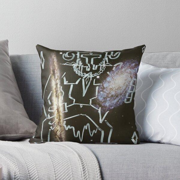 """Space Warrior"" Throw Pillow"