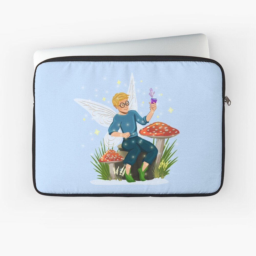 Tommy Tinker Magical Toadstool Bench™ Laptop Sleeve