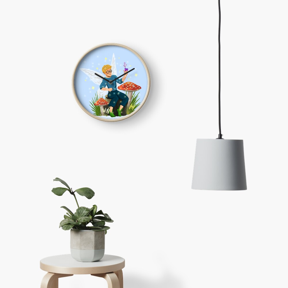 Tommy Tinker Magical Toadstool Bench™ Clock