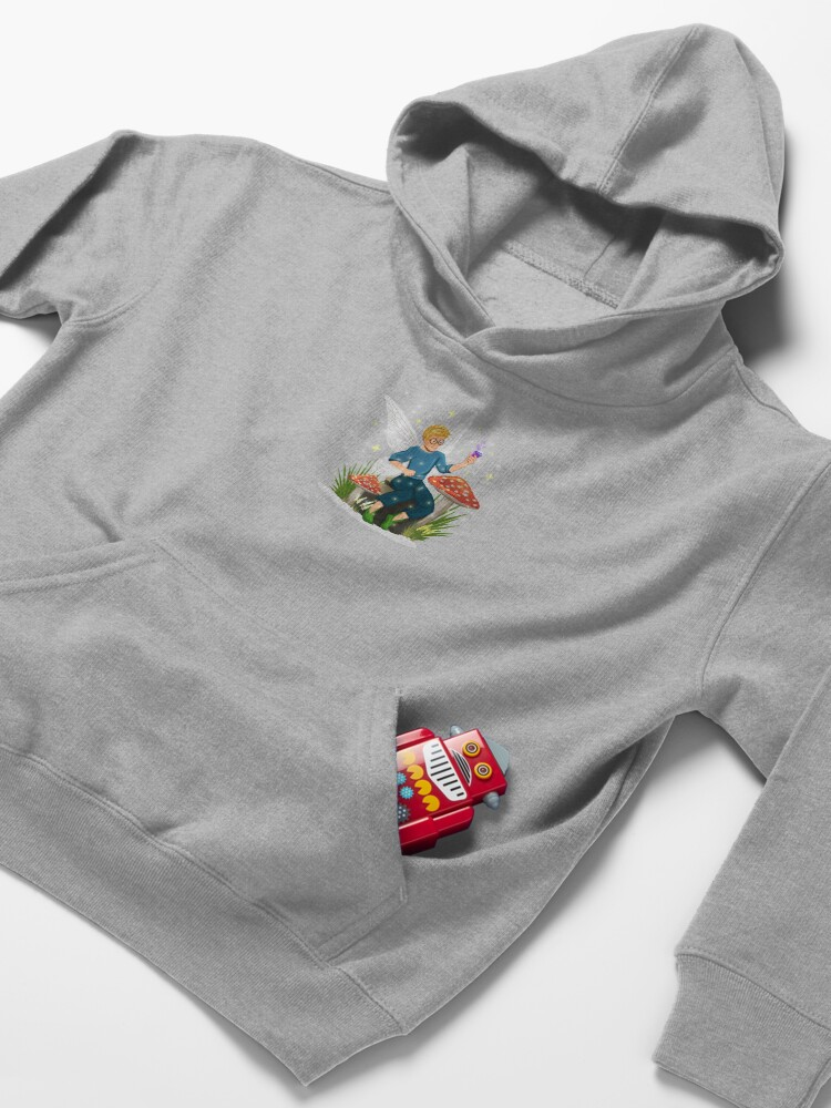 Alternate view of Tommy Tinker Magical Toadstool Bench™ Kids Pullover Hoodie