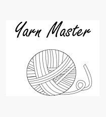 Yarn Master (Yarn) Photographic Print