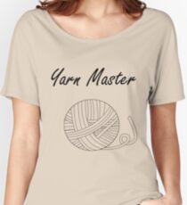 Yarn Master (Yarn) Women's Relaxed Fit T-Shirt