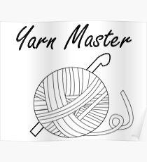 Yarn Master (Crochet) Poster