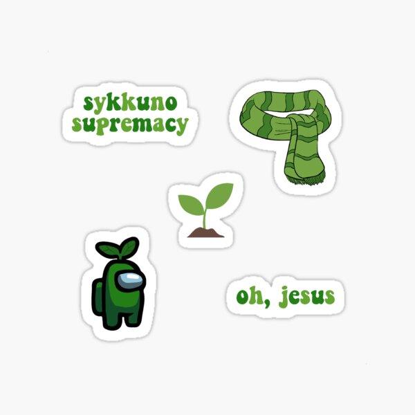 sykkuno sticker pack  Sticker