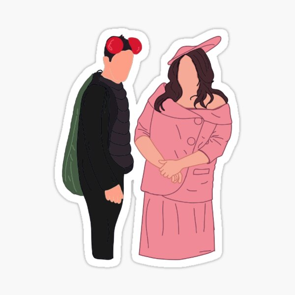Cam and Phil Sticker