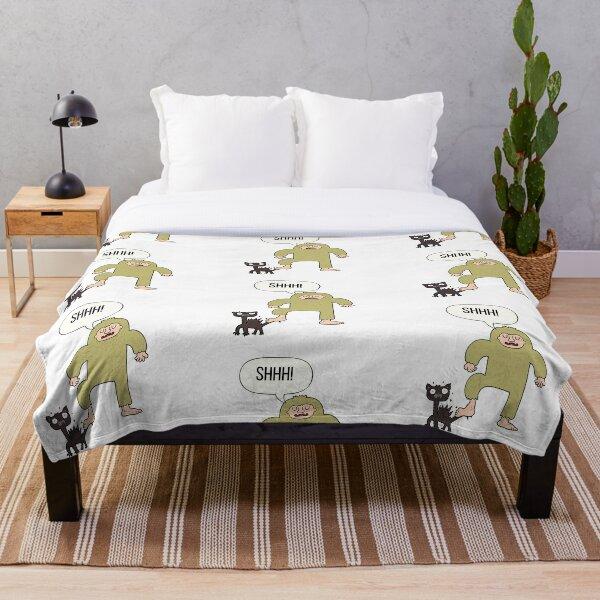 Ethereal Pangdd Sneaky Sasquatch Blanket Comforter Couch For Bed Outdoor Living Room Decoration 50x40 Child Teens Women Men Bedding Kolenik Kids Bedding