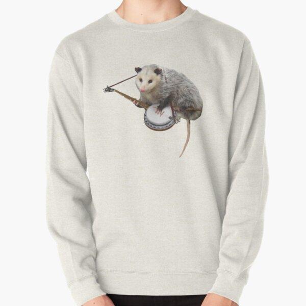Opossum spielt Banjo Pullover