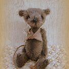 Handmade bears from Teddy Bear Orphans - Ratticus Rat by Penny Bonser