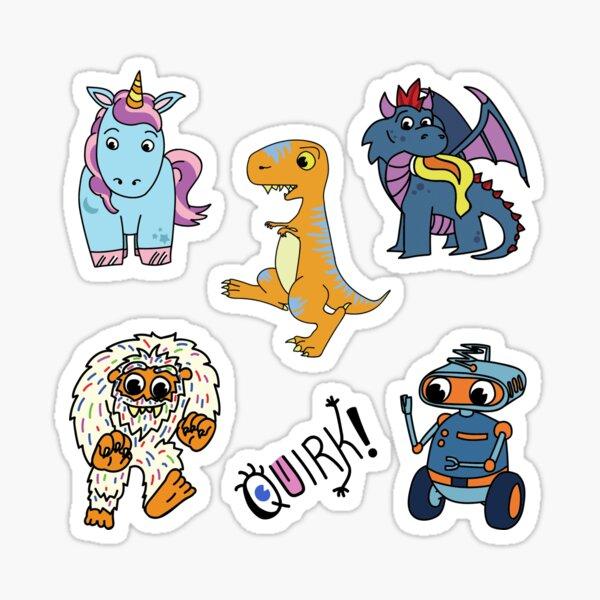 Quirk! Sticker Set 1 Sticker