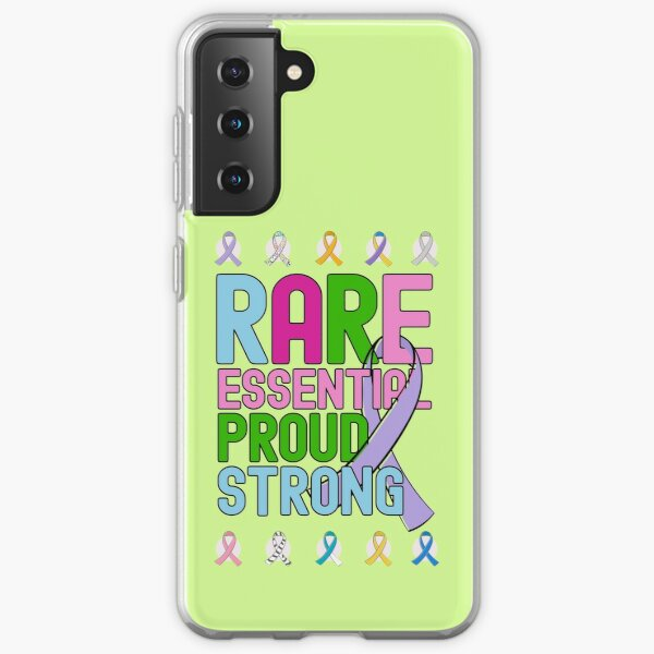 Rare Disease Day Essential Proud Strong People Awareness Samsung Galaxy Soft Case