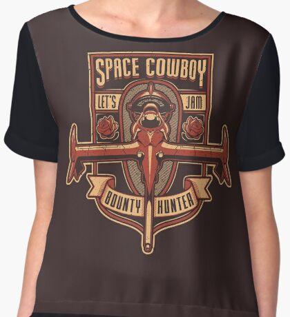 Space Cowboy - Bounty Hunter Women's Chiffon Top
