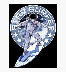 Retro Star Surfer One T-Shirt & Hoodie Photographic Print