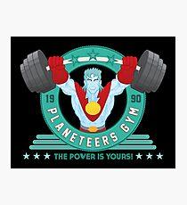 Planeteers Gym Photographic Print