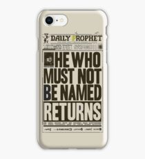 Daily Prophet iPhone Case/Skin