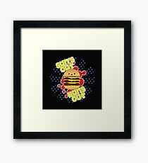Sun's Out, Buns Out. Framed Print
