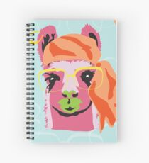Pop Llama Hide and Seek Spiral Notebook
