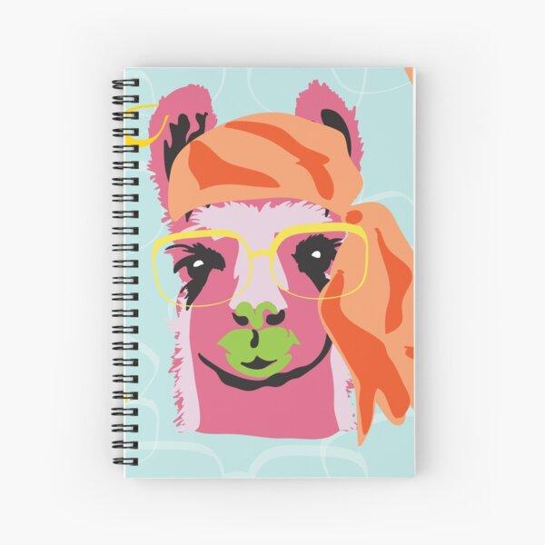 Pop Llama Hide and Seek Spiral Notebook