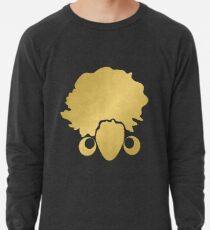 "Gold ""No Additives"" Logo Lightweight Sweatshirt"