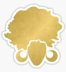 "Gold ""No Additives"" Logo Sticker"