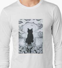 Magick Cat Long Sleeve T-Shirt