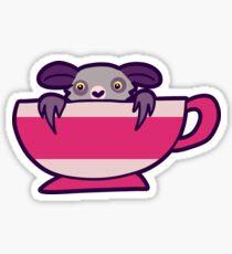 Teacup Aye Aye Sticker
