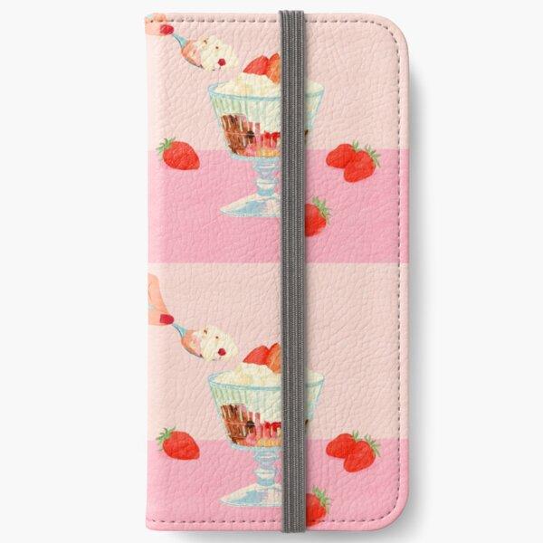 Strawberry Ice Cream iPhone Wallet