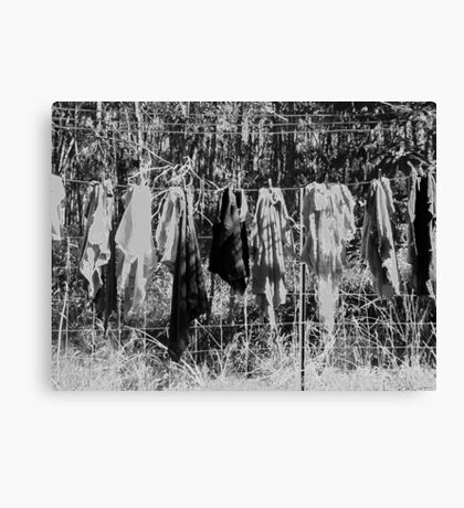 All I have are rags to wear #2 Canvas Print