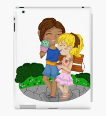 Ymir and Christa (Historia) Ice cream date iPad Case/Skin