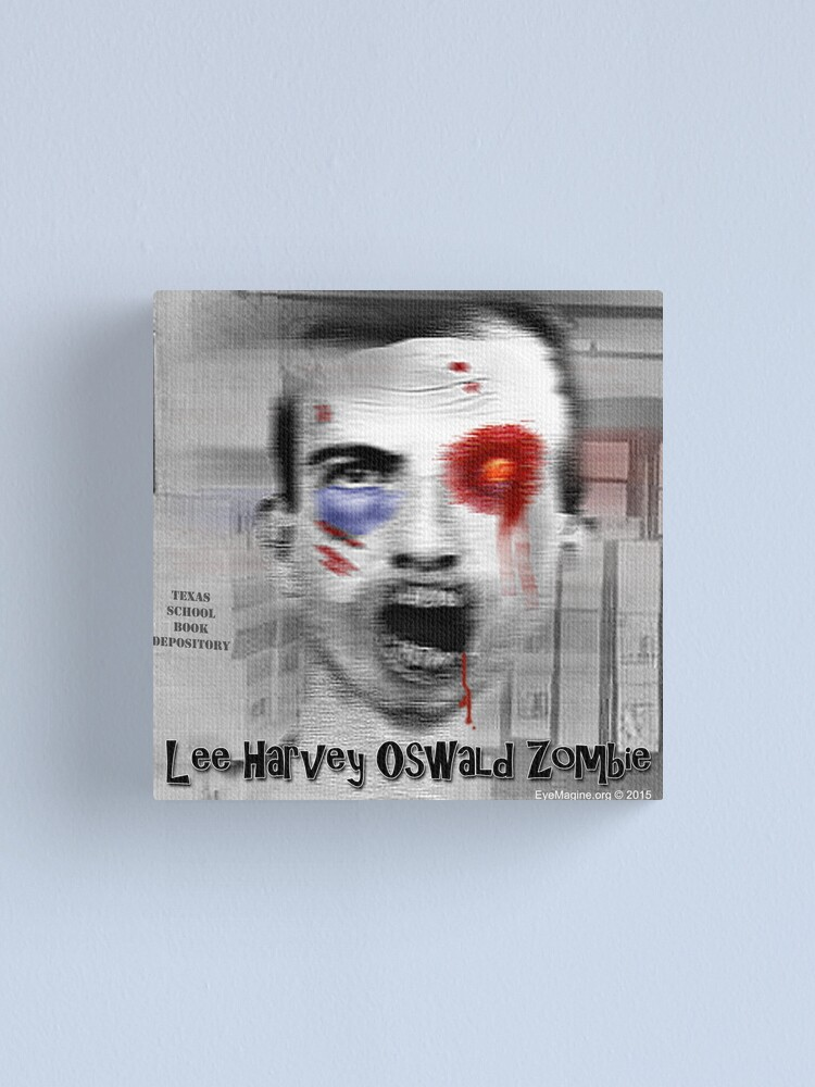 Alternate view of Lee Harvey Oswald Zombie Canvas Print