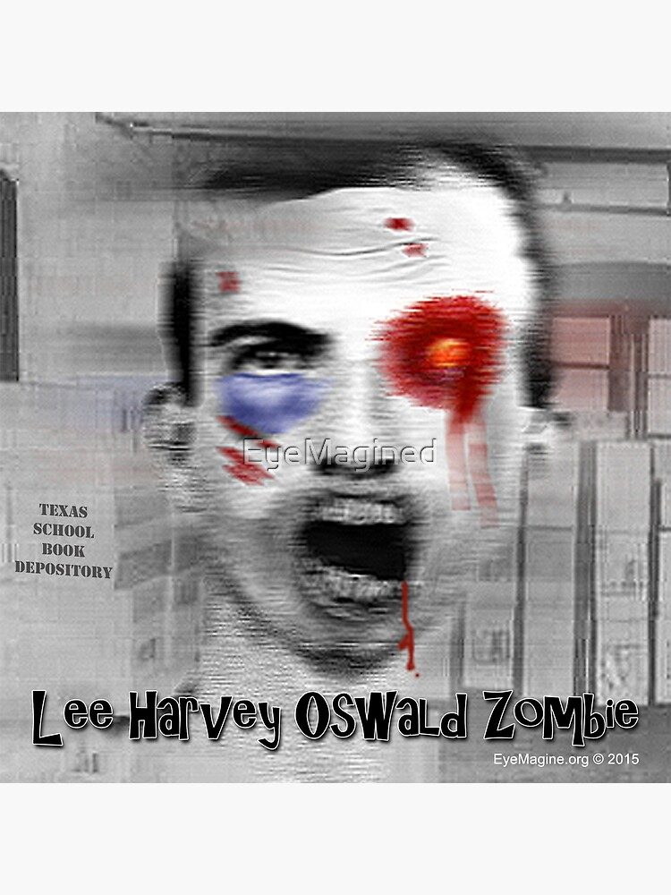 Lee Harvey Oswald Zombie by EyeMagined