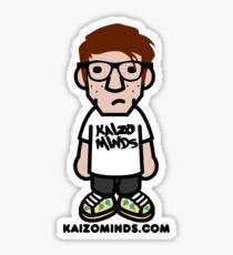 "Kaizo Minds - ""Skateboard L"" Sticker"