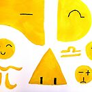 Emoticons by cloude-vigal