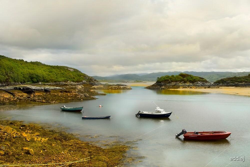 Kentra Bay - Scotland by eddiej